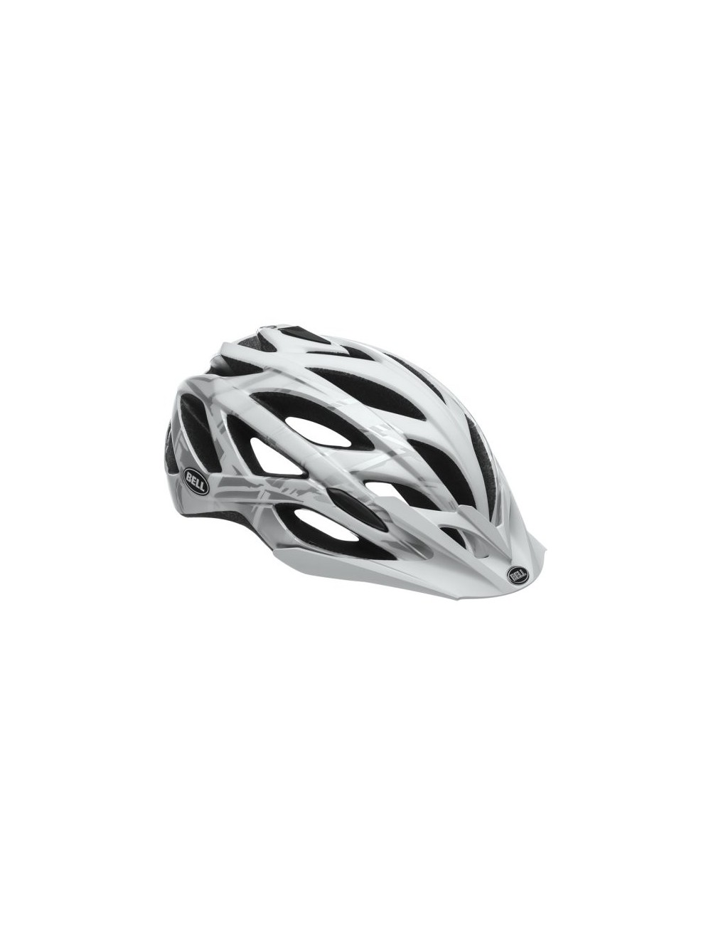 CAPACETE BELL SEQUENCE BRANCO/CINZA BURNOUT