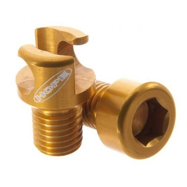 KIT HOPE GUIA TUBO TRAVAO DISCO 8MM DOURADO