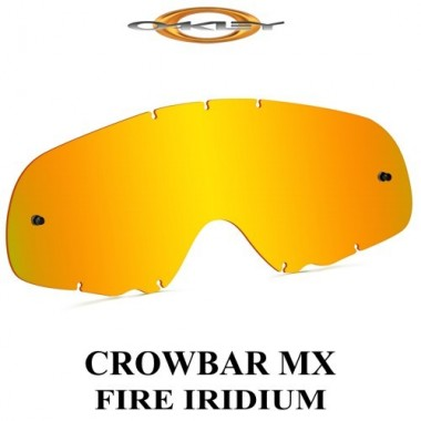 LENTE OAKLEY CROWBAR FIRE IRIDIUM 07