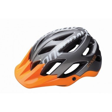 CAPACETE CANNONDALE RYKER AM GRAY/ORANGE