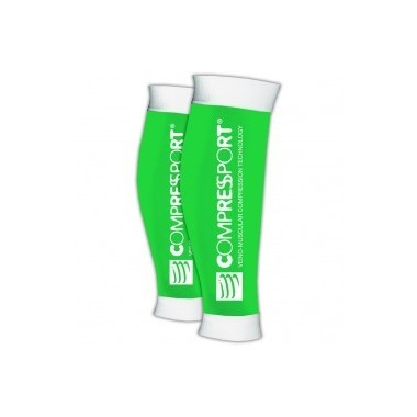 COMPRESSPORT R2 - T2 VERDE FLUORESCENTE