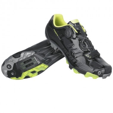 SAPATOS SCOTT MTB TEAM BOA PRETO/LIMA