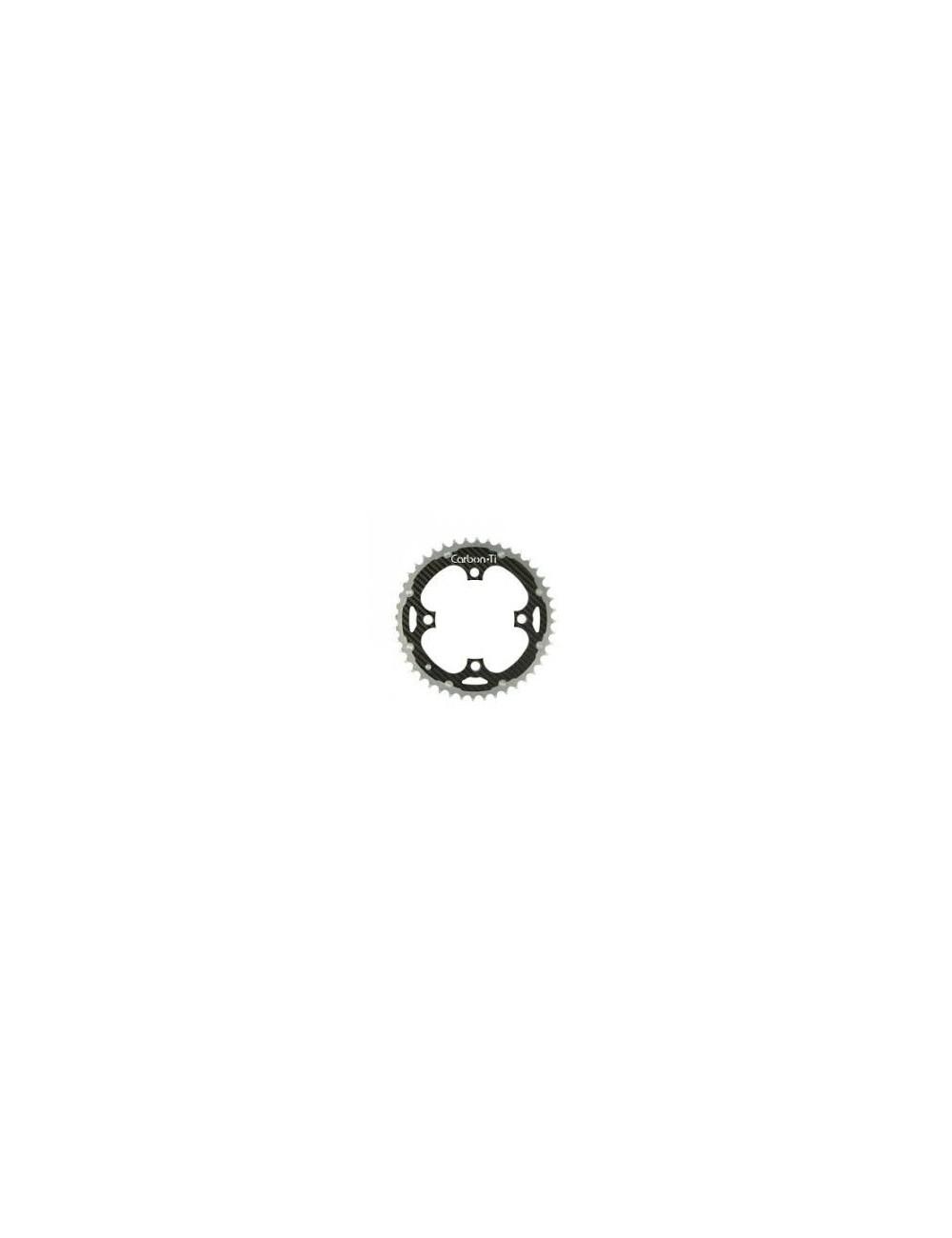 RODA PEDALEIRA X-RING TI/CARBONO MTB 4X104 32D 31GR