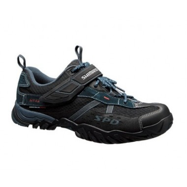 SAPATOS MTB SHIMANO SH-MT42N AZUL ESC/PRETO