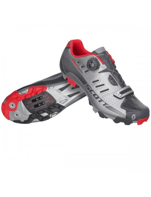 SAPATOS SCOTT MTB TEAM BOA CINZA/PRETO