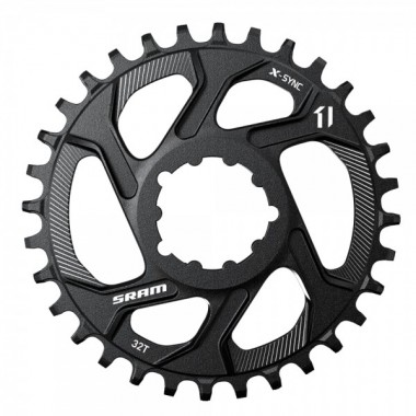 RODA PEDALEIRA SRAM X-SYNC 32D DIRECT MOUNT 6 OFFSET 11V   2017