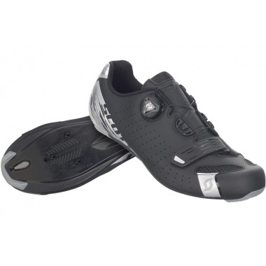 SAPATOS SCOTT ROAD COMP BOA PRETO/PRATA