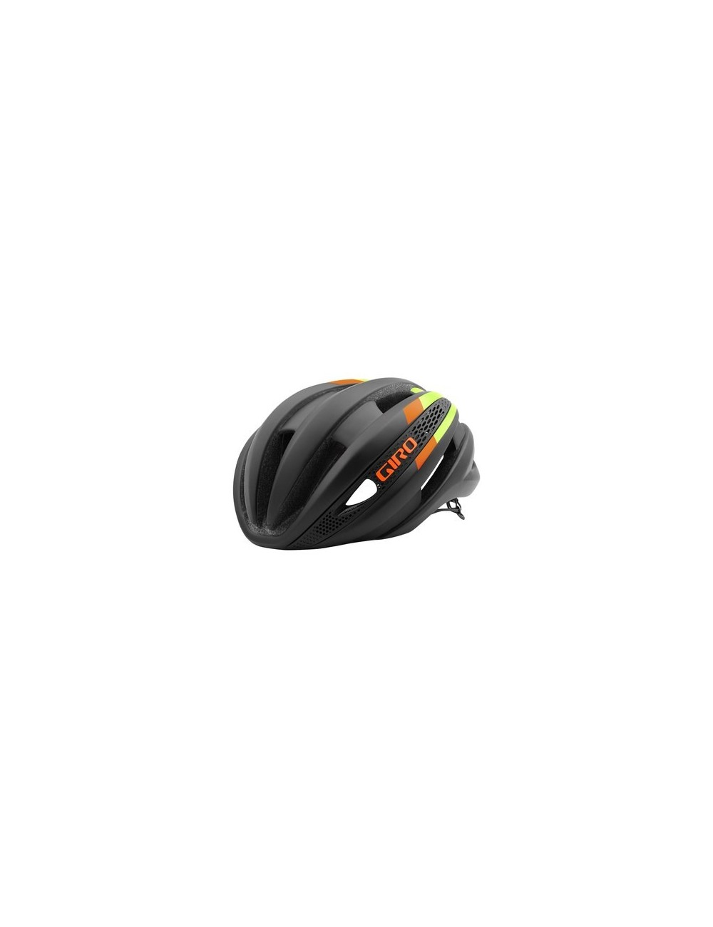 CAPACETE GIRO SYNTHE 2016 MATTE BLACK/LIME FLAMES