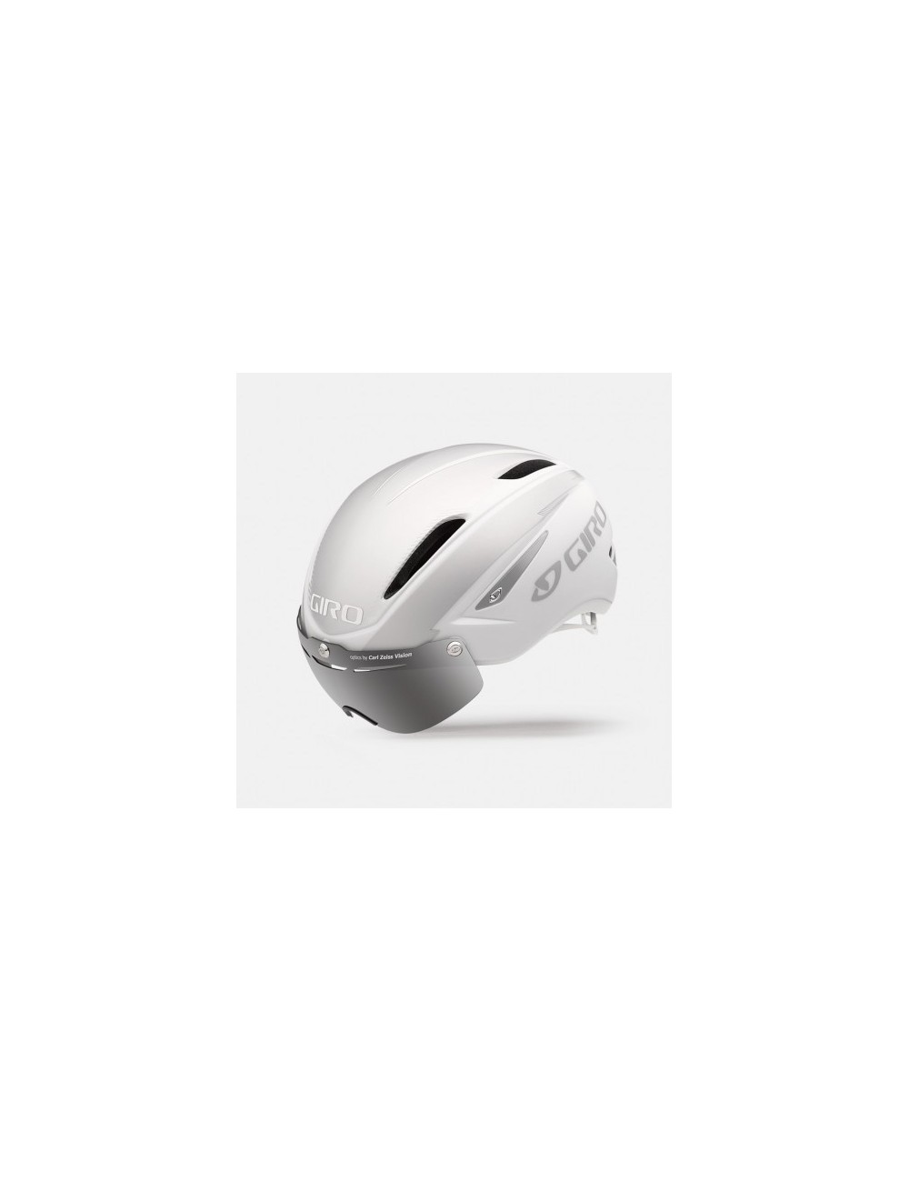 CAPACETE GIRO AIR ATTACK SHIELD 2016 MATTE WHITE/SILVER T-M