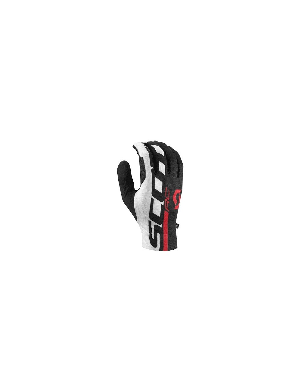 LUVAS SCOTT RC PRO C/DEDOS BLK/RED - 2016
