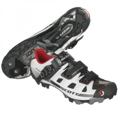 SAPATOS SCOTT MTB PRO BRANCO/PRETO