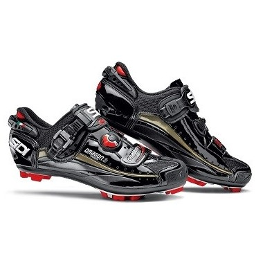 SAPATOS SIDI MTB DRAGON 3 SRS PRETO/PRETO