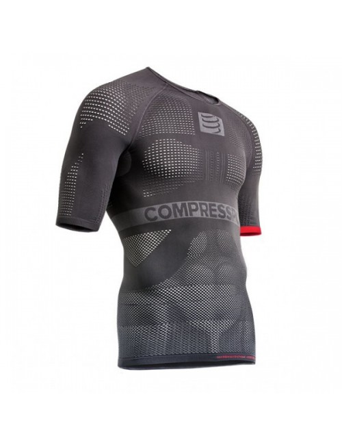 JERSEY COMPRESSPORT ON/OFF MULTISPORT SHIRT SS CINZA M