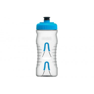 BIDON FABRIC CLEAR BLUE/CAP 0.65L