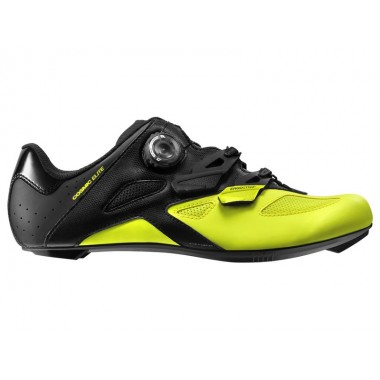 SAPATOS MAVIC COSMIC ELITE  PRETO/AMARELO 2018