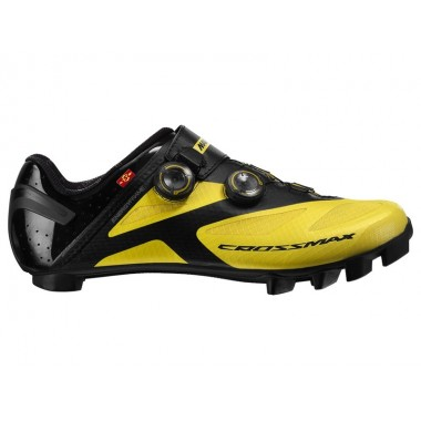 SAPATOS MAVIC CROSSMAX SL ULTIMATE AMARELO T 43 13 BikeZone