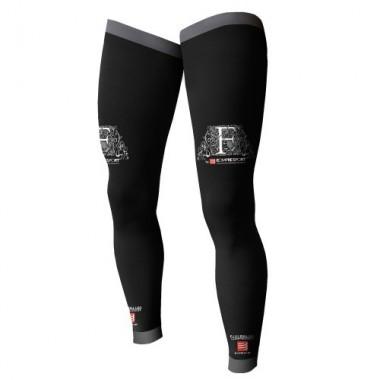 COMPRESSPORT FULL LEG - T3+ PRETO