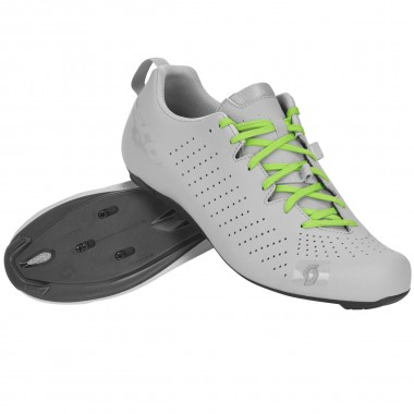 SAPATOS SCOTT ROAD COMP LACE CINZA MATE/VERDE