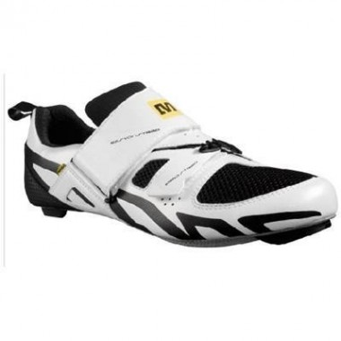SAPATOS MAVIC TRIATHLON RACE BRANCO/ PRETO T- 41