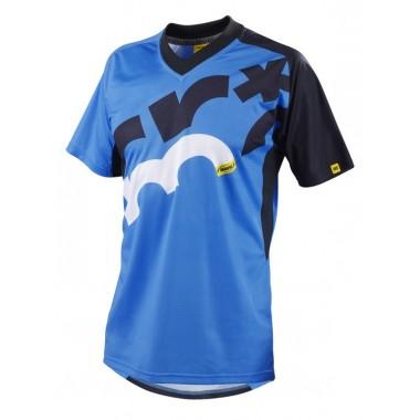 JERSEY MAVIC CROSSMAX SCREEN BLUE