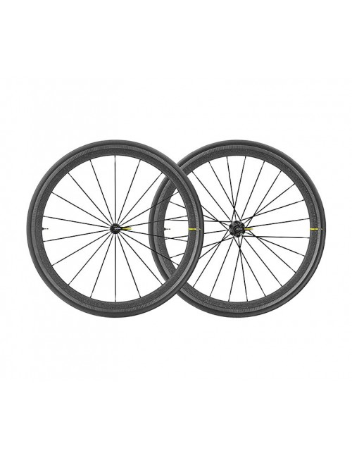 PAR RODAS MAVIC COSMIC PRO CARBON UST DISC TOUR FRANCE M-25