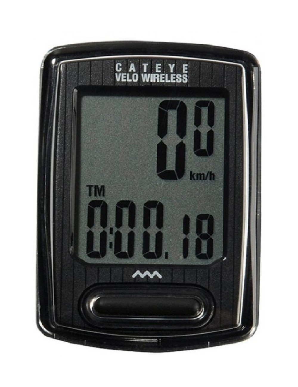 CICLOCOMPUTADOR CATEYE VELO WIRELESS PRETO