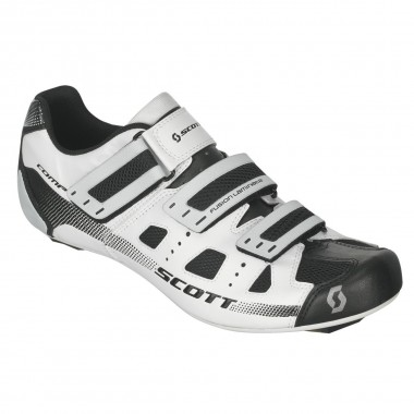 SAPATOS SCOTT ROAD COMP BRANCO/PRETO T- 42