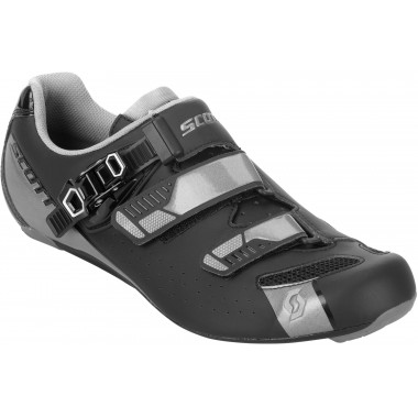 SAPATOS SCOTT ROAD PRO PRETO MATE/CINZA BRILHO T- 42