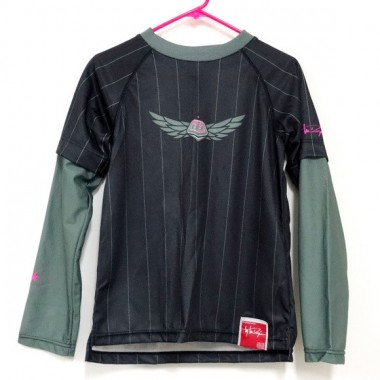 JERSEY TROY LEE DESIGNS MOTO GIRLS PRETO/ROSA T-L