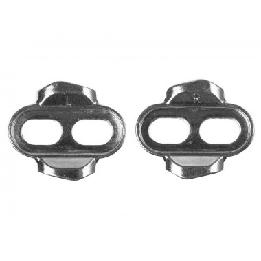 CLEATS CRANK BROTHERS STANDARD 0º FLOAT PRATA