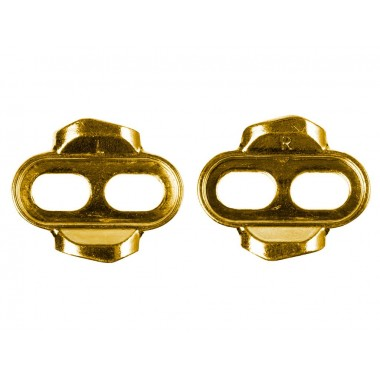 CLEATS CRANK BROTHERS STANDARD 6º FLOAT DOURADO