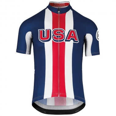 JERSEY ASSOS USA CYCLING SS