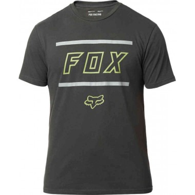 T-SHIRT FOX MIDWAY SS AIRLINE PRETO T-M