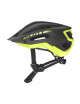 CAPACETE SCOTT FUGA PLUS REV CINZA ESCURO/AMARELO T-M