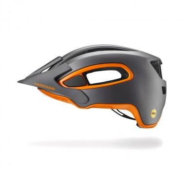 CAPACETE CANNONDALE HUNTER MIPS CINZA/LARANJA T-S/M