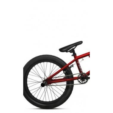 21 BICICLETA COLUER BMX FREESTYLE ROCKBAND VERMELHO