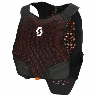 BODY ARMOUR SCOTT SOFTCON AIR PRETO/CINZA T-M/L