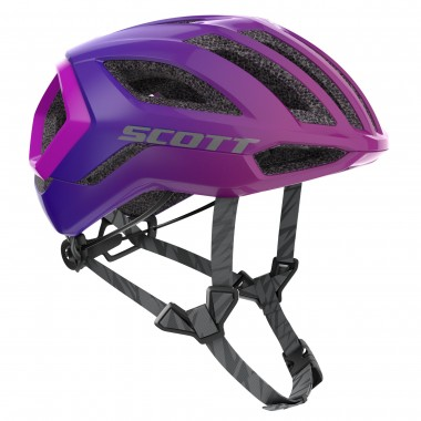 CAPACETE SCOTT CENTRIC PLUS SUPERSONIC ED PRETO/PURPURA